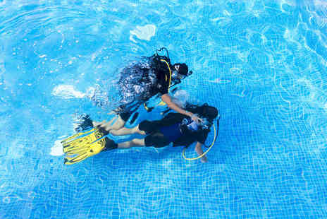 Into The Blue  - Adult scuba diving experience or kids bubblemaker experience for two   - Save 0%
