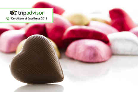 The Kandy Factory - Candlelit Valentines chocolate workshop for two   - Save 52%