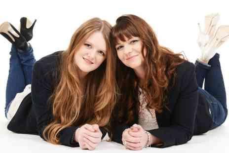 Alexander Imaging - Mother and Daughter Makeover Photoshoot with One Print - Save 91%