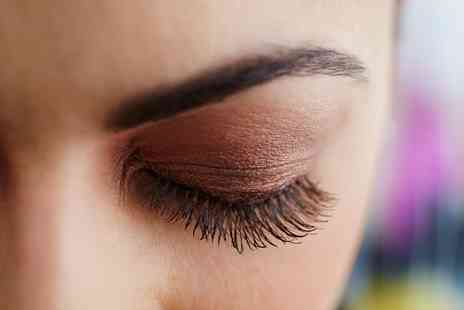 Diamontie Boutique - Semi Permanent Eyelash Extensions with Optional HD Brow Shape and Tint - Save 53%