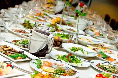 White Horse Lodge  - Three Course International Lunch or Dinner Buffet for Up to 10 People - Save 0%