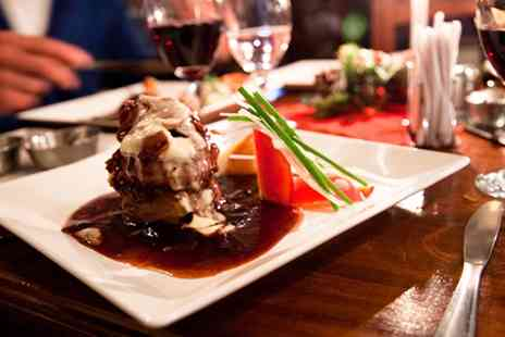 The Haunch Of Venison - Two Course Meal with Wine for Two or Four - Save 56%