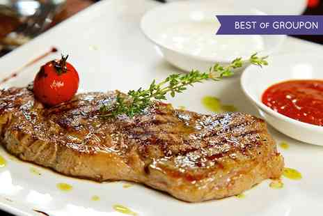 Jaspers Restaurant - Three Courses of English and Continental Cuisine For Two - Save 51%