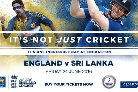 Edgbaston Stadium - England v Sri Lanka Royal London ODI on 24 June  - Save 0%