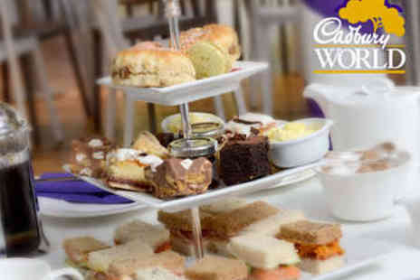 Cadbury World - Cadbury World Tour and Afternoon Tea - Save 0%