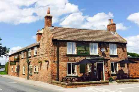 Drovers Arms - Three Course Meal for Two  - Save 50%