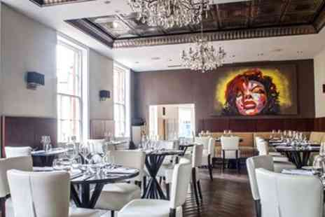 The Lace Market -  Lonely Planet raised Two Course Meal for 2 - Save 50%