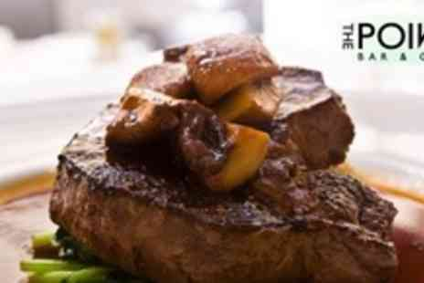 The Point Bar and Grill - Steak Meal For Two With Champ and Onion Rings - Save 50%