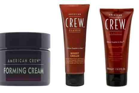 Crazy Kangaroo - American Crew Mens Hair Styling Collection With Free Delivery - Save 0%