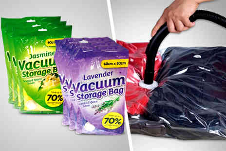 Urshu - Two scented vacuum storage bags  - Save 80%