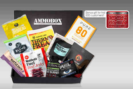 Ammobox  - Health and fitness supplements box Plus Delivery Included - Save 50%