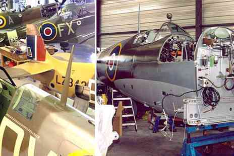 Activity Gift Vouchers  - VIP Hangar Tour with Optional Spitfire Experience - Save 0%