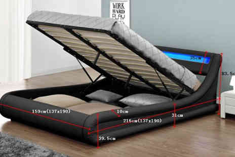 Limitless Base - Rio Ottoman Storage Bed - Save 75%