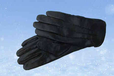 Mccalifornia - Mens Genuine Leather Gloves - Save 66%
