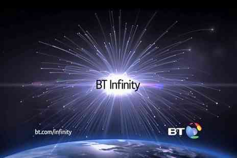 BT - Unlimited BT Infinity Broadband for 12 Months Plus £40 Boots Voucher - Save 0%