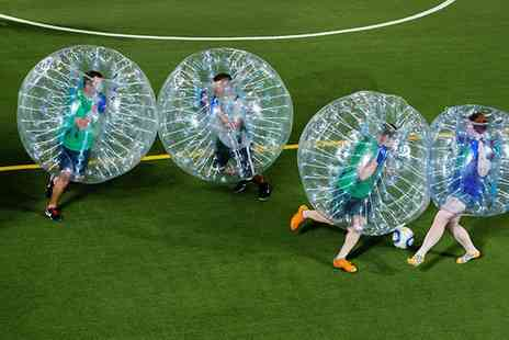 Bounce Footy - One or Two Hours of Bubble Football - Save 37%