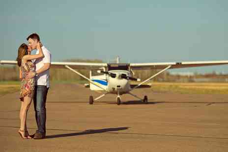 Eden Flight Training - 60 Minute Couples Pleasure Flight for Two - Save 46%