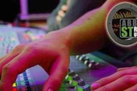 Abbot Street Studios - Professional Studio Recording Session for Four Hours With Sound Engineer - Save 70%