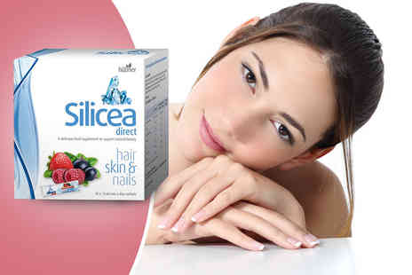 World Foods Brand Management  -  30 red berry flavoured sachets of silicea for hair, skin and nails - Save 59%