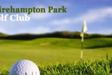 Shirehampton Park Golf Club - Two PGA Golf Lessons With Video Analysis For Two or Nine Hole Playing Lesson For Two - Save 76%