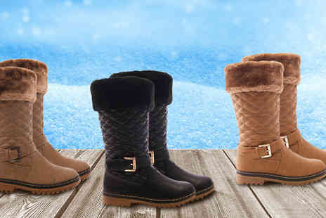 Solewish - Dancer Womens Outdoor Boots in 3 Colours - Save 77%