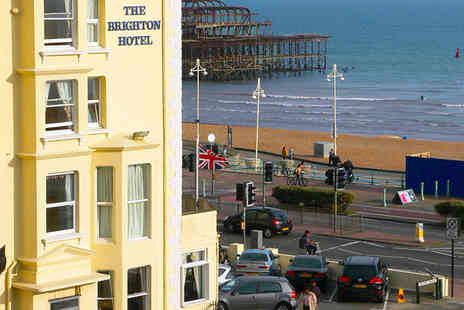 The Brighton Hotel - One  or Two Night Stay with Breakfast and Discounted Meals, Beverages and Late Checkout - Save 0%