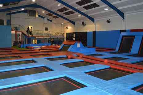 Boing Zone Trampoline Park - Trampoline Team Building Day for 20 People - Save 23%