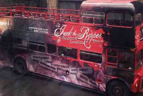 Premium Tours -  Haunted London, Jack the Ripper and Sherlock Holmes Bus Tour Ticket  - Save 50%