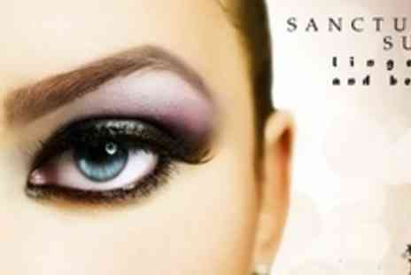 Sanctuary Suite Lingerie and Beauty - Semi Permanent Eyelash Extensions and Tint, Plus Eyebrow Tint and Shape - Save 60%