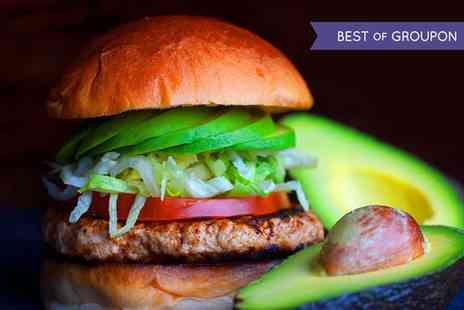 Lone Star Grill   - American Style Burger with a Side for Up to Five - Save 51%