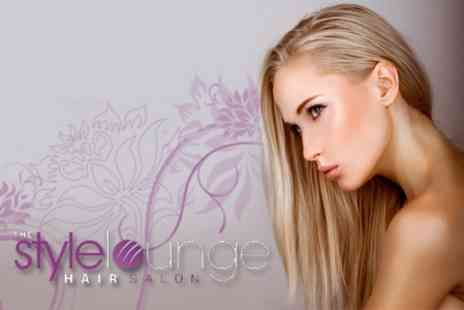 The Style Lounge - Full Head of Colour With MOROCCANOIL� Treatment, Haircut and Finish for £22 - Save 76%