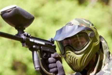 The Dangerzone - Paintball Experience For Up To Ten People With Lunch and 100 Paintballs Each - Save 92%