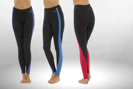 UK Home & Garden Store - Pair of ladies full or three quarter length sports leggings choose from three colours - Save 78%