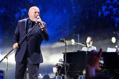 The Omega Holidays Group - Ticket to see Billy Joel at Wembley Arena including an overnight stay and breakfast - Save 0%