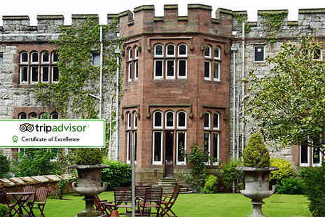 Ruthin Castle Hotel - Overnight break for two including breakfast, Prosecco and spa access  - Save 39%