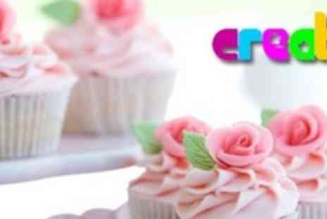 Create - Cupcake Decoration Class With Afternoon Tea For Two - Save 73%