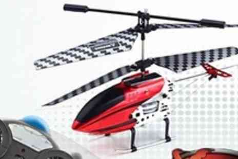 Extreme Fliers - Indoor Remote Control Robocoptor GST Special Edition - Save 53%