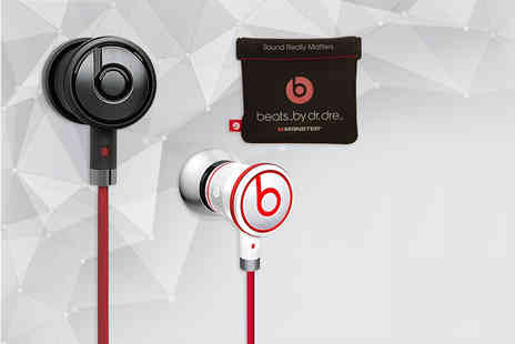 SA Products - Pair of Monster UrBeats by Dr Dre in ear headphones - Save 52%
