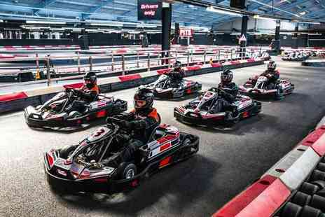 Activity Superstore -  50 laps of indoor go karting for two   - Save 0%