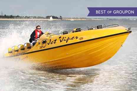Saber Powersports  - One Hour Powerboat Stunt Ride  - Save 66%