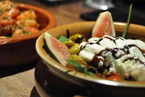 La Raza - Tapas and Wine for Two  - Save 63%