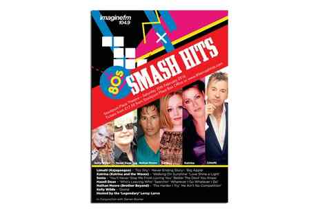 Shout Media and Events  - 80s Smash Hits on 20 February  - Save 48%