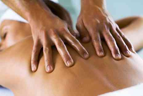 Health Zone 4U - One Hour Full Body Deep Tissue Massage with Optional Facial  - Save 58%