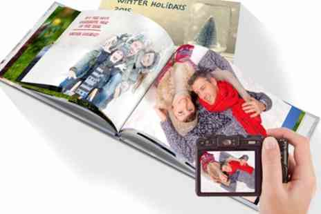 Printerpix - A4 Landscape 100 Page Hardcover Photo Book - Save 86%