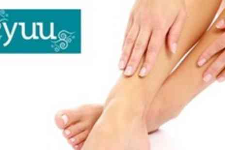 Yuu Beauty & Well-Being - Three IPL Treatments For Nail Fungus For Up to Five Toes - Save 68%