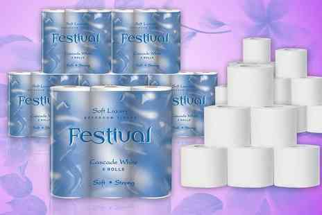 Smart Distribution -   54 Festival toilet rolls - Save 56%