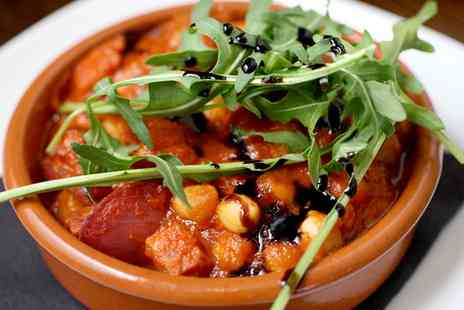Guzelian Cafe Bar - Six or Twelve Tapas to Share plus Wine for Two or Four - Save 57%