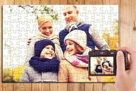 Printerpix - Personalised Board Jigsaw Puzzle in Choice of Size - Save 56%