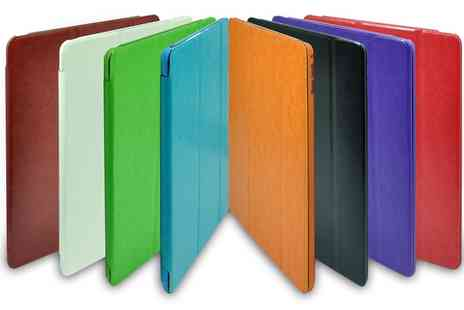 Groupon Goods Global GmbH - iPad Panel Case for iPad 2, 3 or 4, iPad Air 1, 2 or iPad Mini in Choice of Colour  - Save 80%