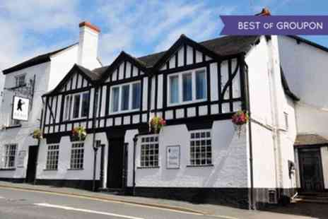 The Bear at Hodnet - Two to Four Nights Stay For Two With Breakfast and Dinner - Save 59%